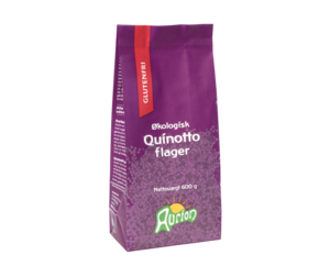Quinotto flager, Aurion