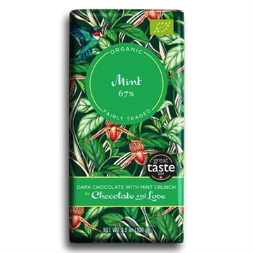 Chokolade m/mint 67%, Chocolate and Love