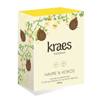 Baby bad m/havre & kokos, 200 g., Kraes