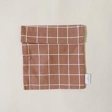 Sandwichbag, Warm Terracotta Check, HAPS Nordic