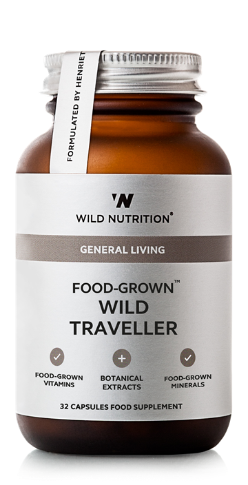 Wild Traveller (C-tivamin, Zink & ingefær), Food-Grown, Wild Nutrition