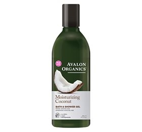 Bath & Shower gel, coconut/Moisturizing, Avalon Organics