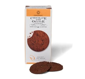 Chocolate & orange cookies