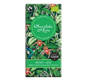 Chokolade 67% m/mint, Chocolate and Love