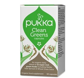 Clean Greens, 60 kap., Pukka