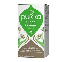 Clean Greens, pulver, Pukka
