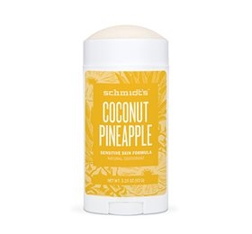 Deodorant stick m/Coco Pineapple Sensitive hud, Schmidt´s