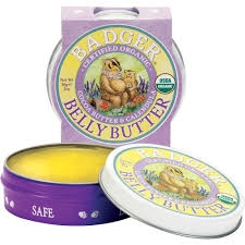 Belly Butter - til strækmærker, Badger Balm