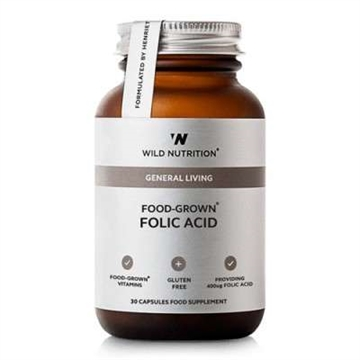 Folic Acid, Food-Grown, Wild Nutrition