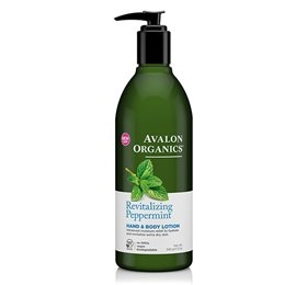 Hand & Bodylotion m/Peppermint/Revitalizing, Avalon Organics