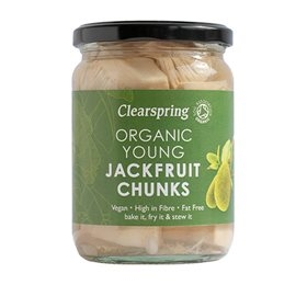 Jackfruit Chunks, i lage, Clearspring