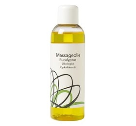 Massageolie m/eucalyptus, Fischer Pure Nature