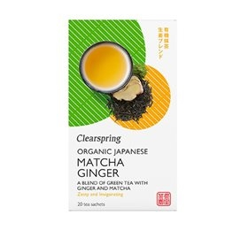 Matcha Ginger the, Clearspring