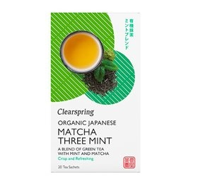 Matcha Three Mint the, Clearspring