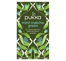 Mint Matcha Green the, Pukka