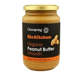 Peanut butter, smooth, Clearspring