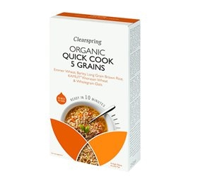 Quick Cook - 5 korn, Clearspring