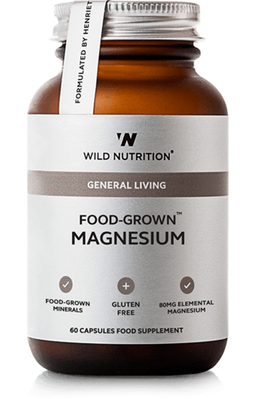 Magnesium, Food-Grown, Wild Nutrition